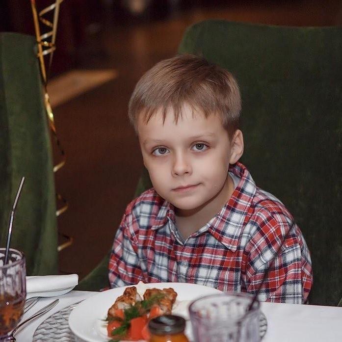 Сын Антона Демьян.