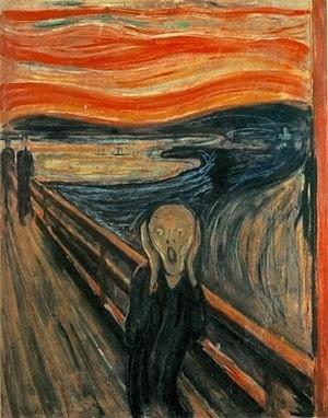 Художник засвою карьеру создалпочти 40 «криков», ивсе они были написаны впериод с1883 по1910 год.  В 2004 году несколько вооруженных грабителей ворвались вмузей Осло ипросто снял...