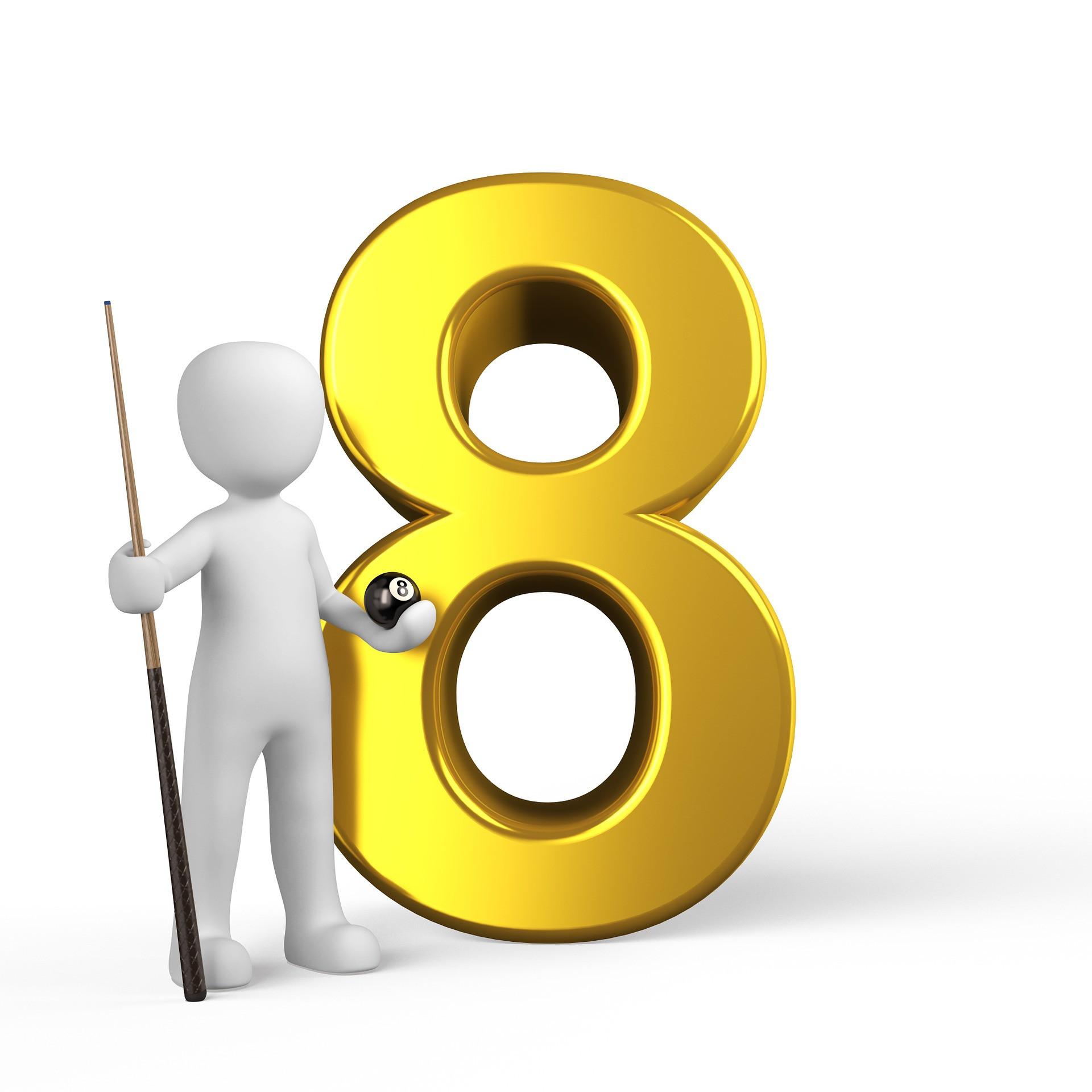 Сатурн.  В идеале (8) – эта цифра гов...