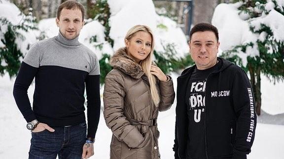 Дана Борисова сучастниками лагеря.