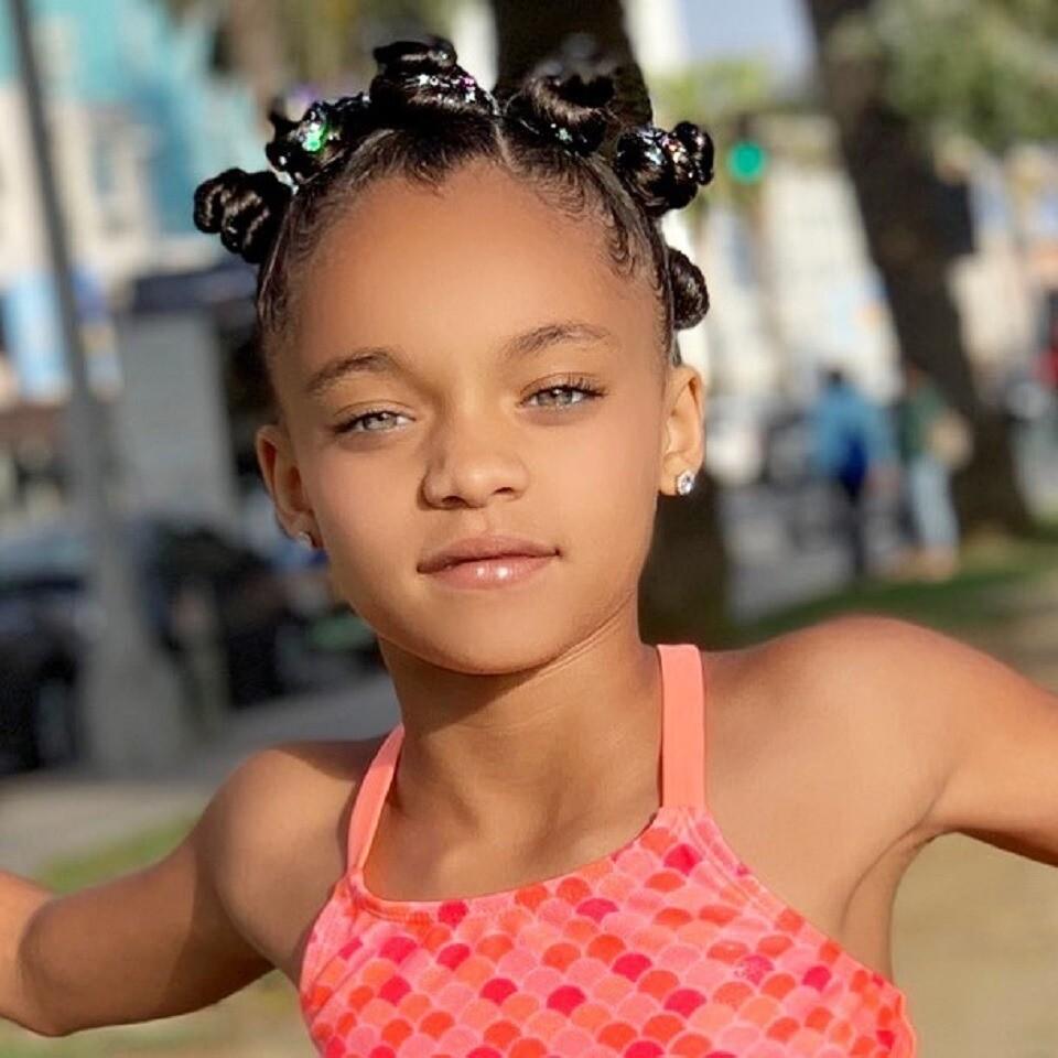 Семилетняя копия Рианны стала востребованной моделью