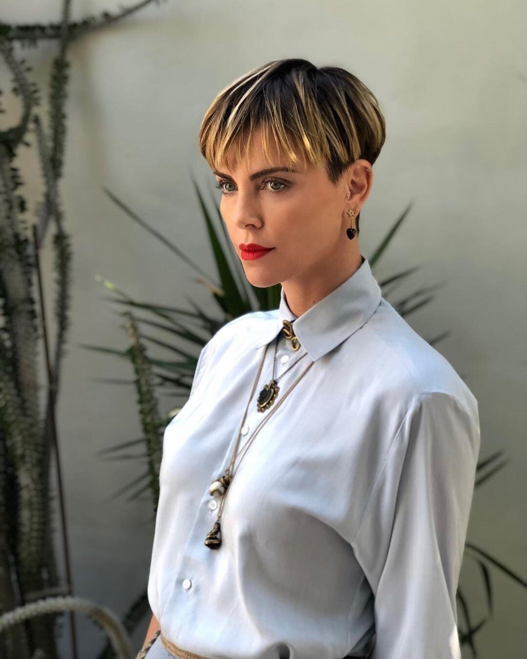 Шарлиз Терон прокомментировала слухи о романе с Брэдом Питтом (видео)