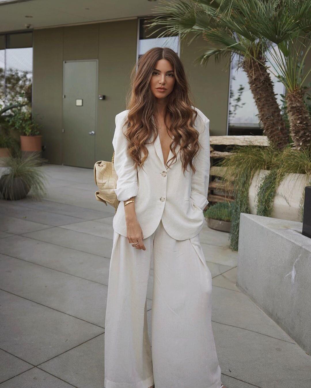 С чем носить белый женский пиджак: актуальные модели и 43 крутых образа (фото)