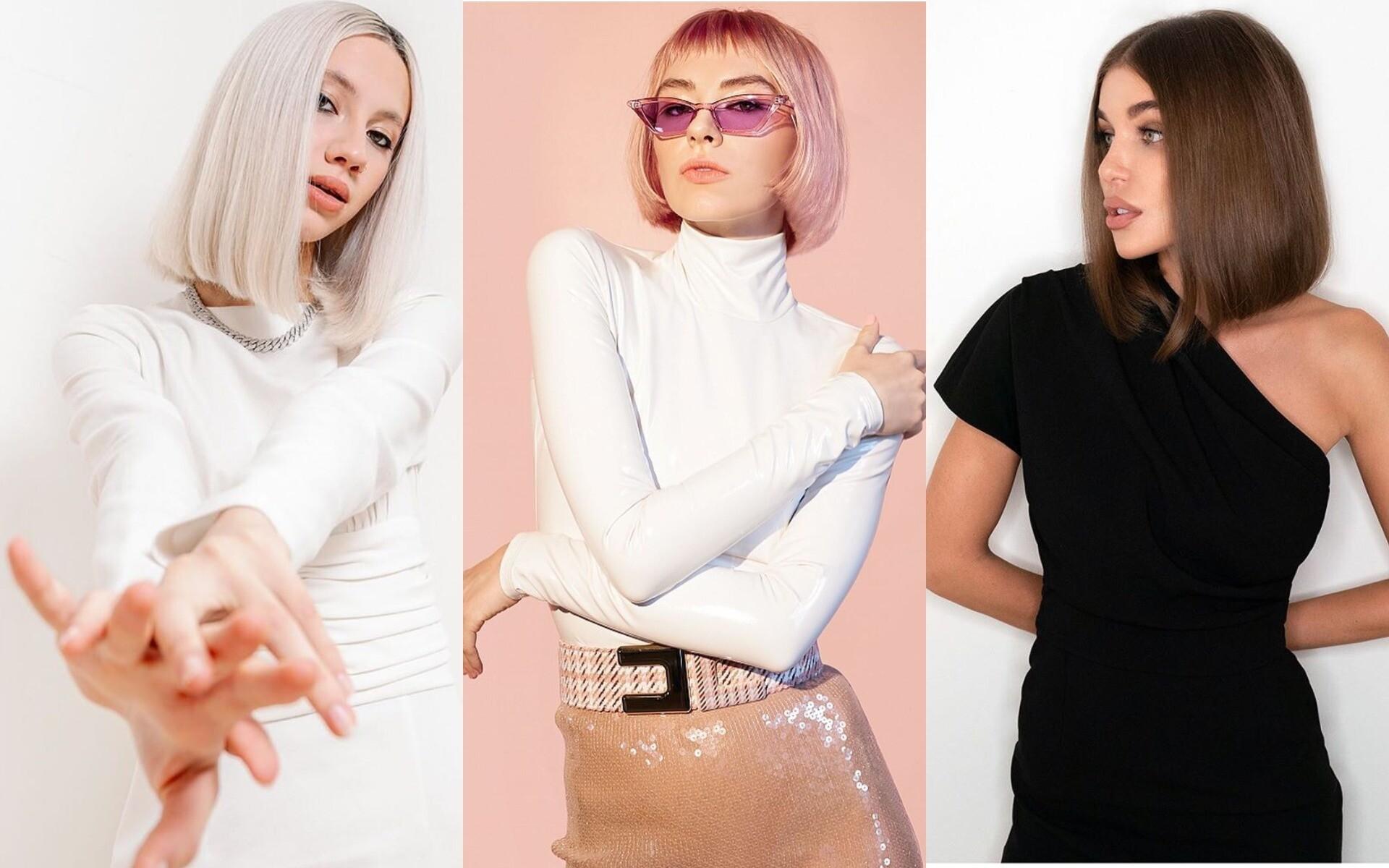 Сливочный блонд и яркие пряди: тренды окрашивания на короткие волосы 2020