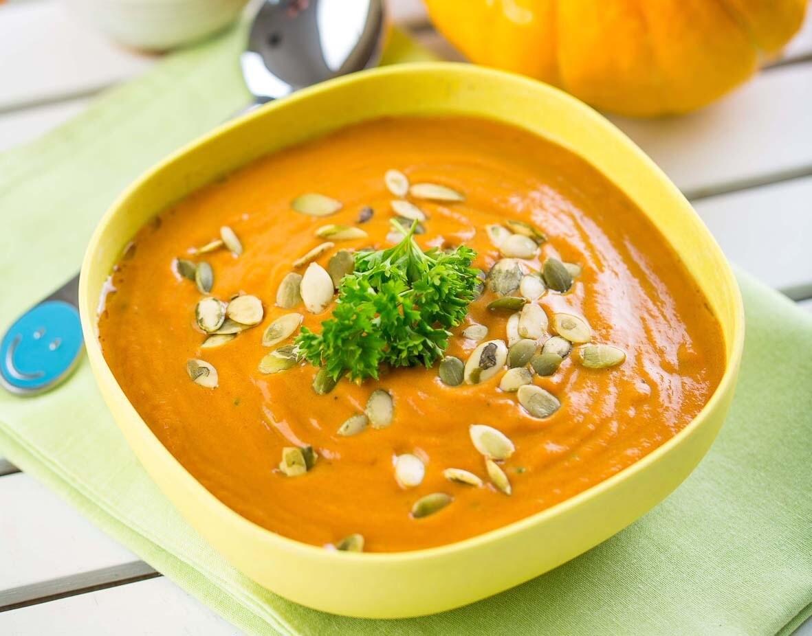 Суп-пюре из тыквы: 8 самых аппетитных рецептов
