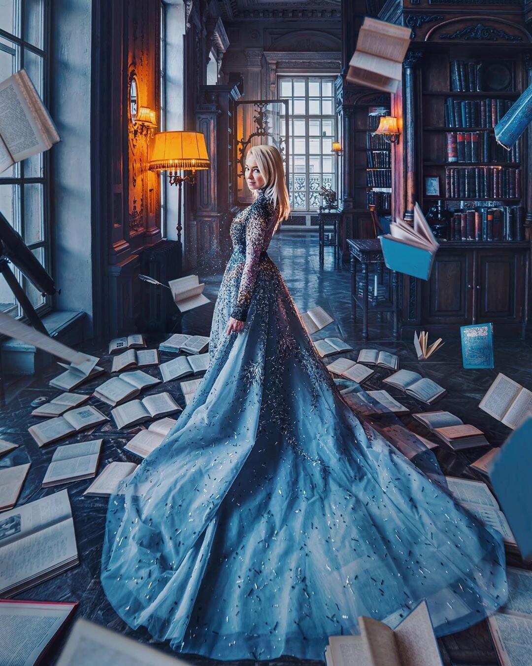 Яна Рудковская примерила платье с трехметровым шлейфом на бал дебютанток (видео)