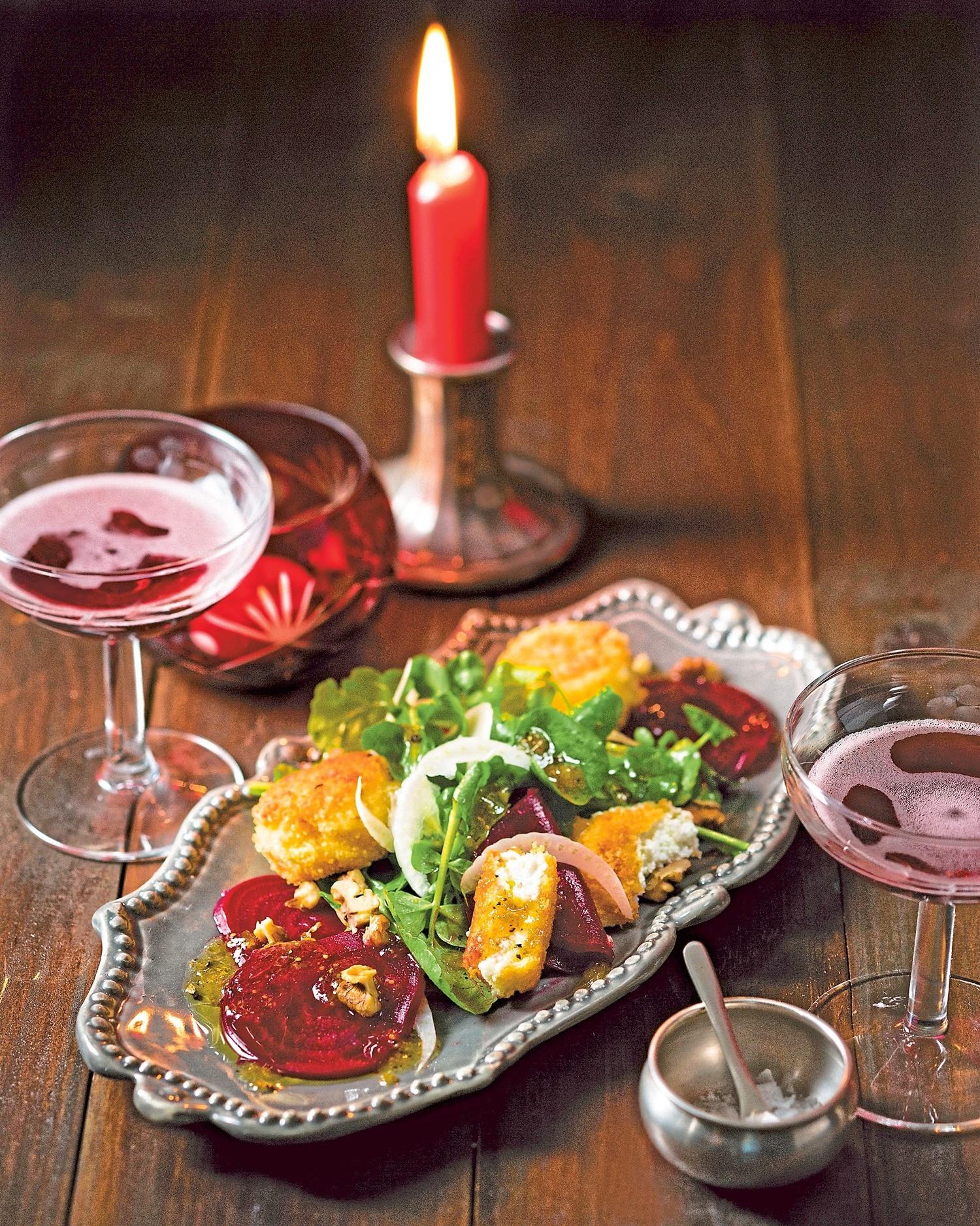 Романтичный ужин: рецепт карпаччо из свеклы с сыром