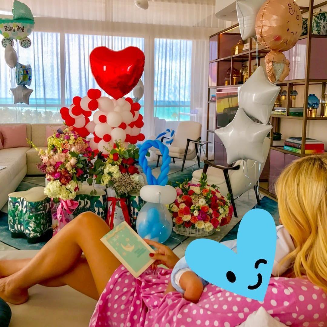 Виктория Лопырева с новорожде&#...