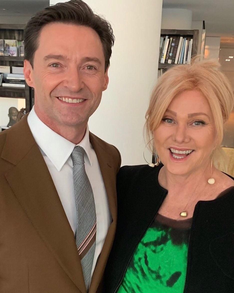Хью Джекман со своей женой Дебо...