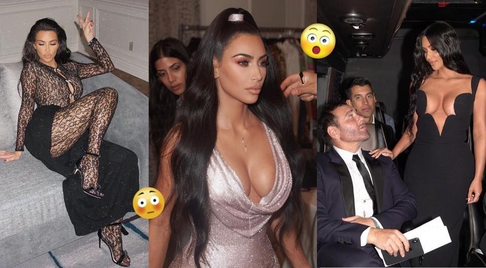 10 самых дерзких и горячих нарядов Ким Кардашьян за последний год