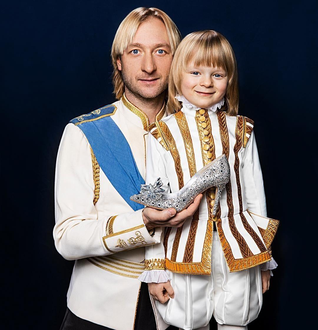 На шоу в Японии сложные элементы за Евгения Плющенко выполнял его сын