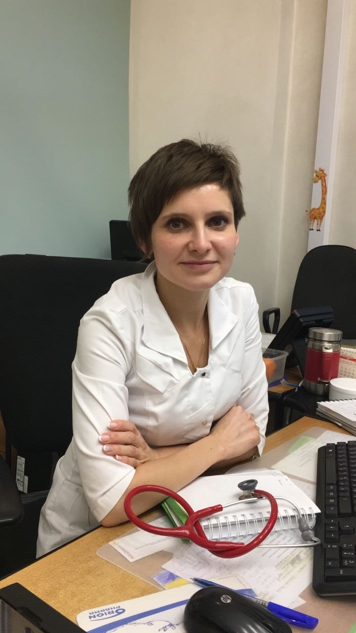 Мария Евстигнеева, педиатр Детской клиники МЕДСИ вБлаговещенском переулке