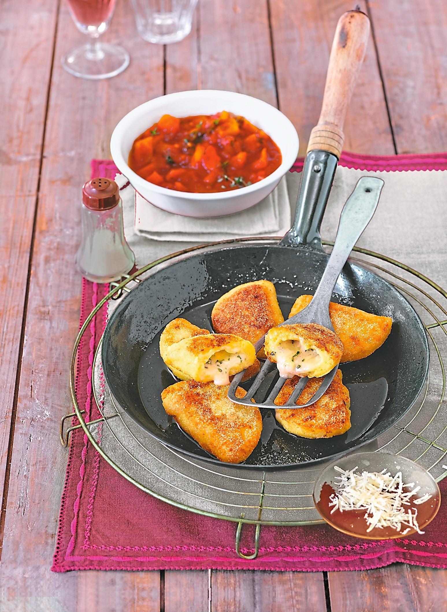 Итальянский ужин: рецепт жареных равиоли