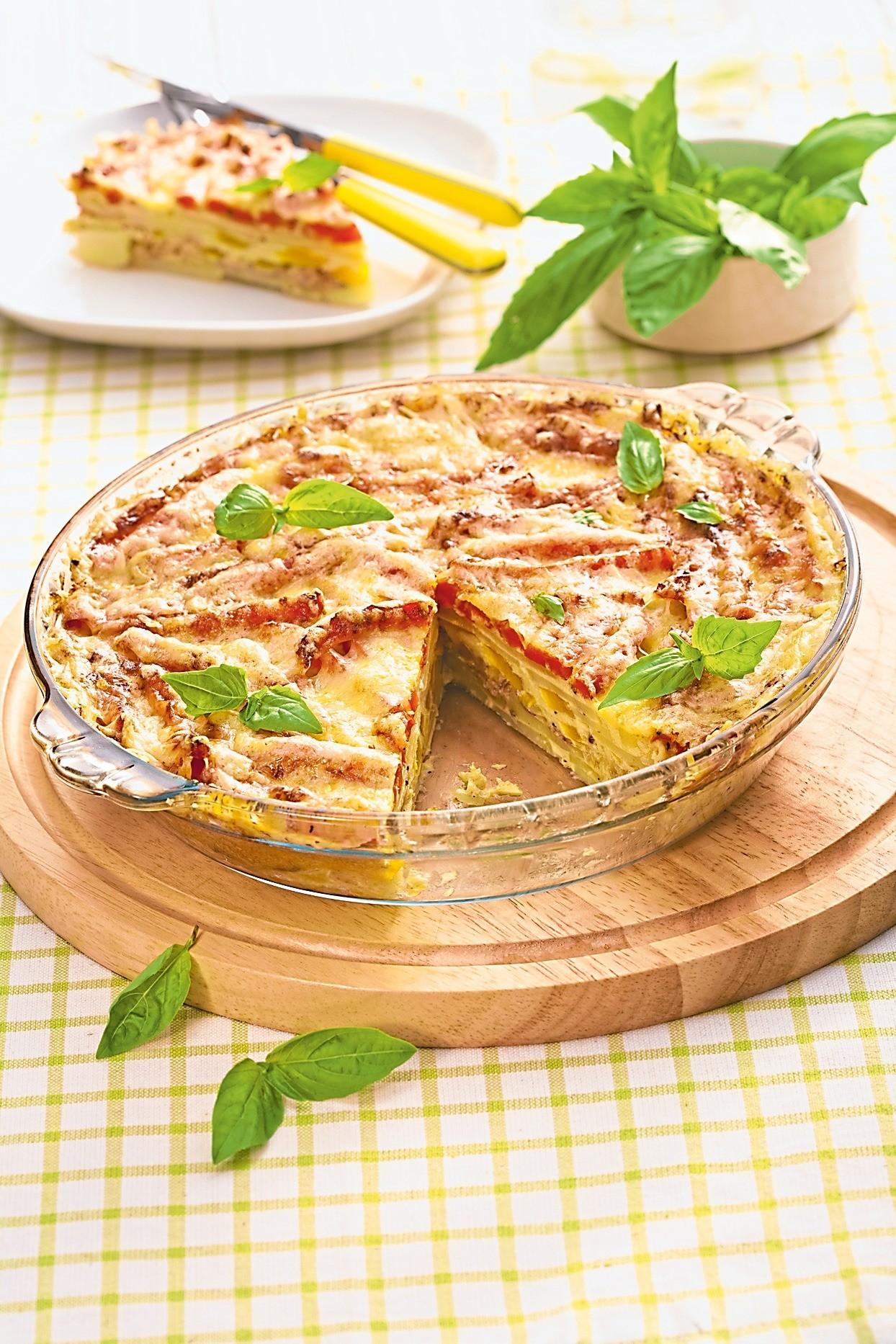 Сытный обед: рецепт запеканки с перцем