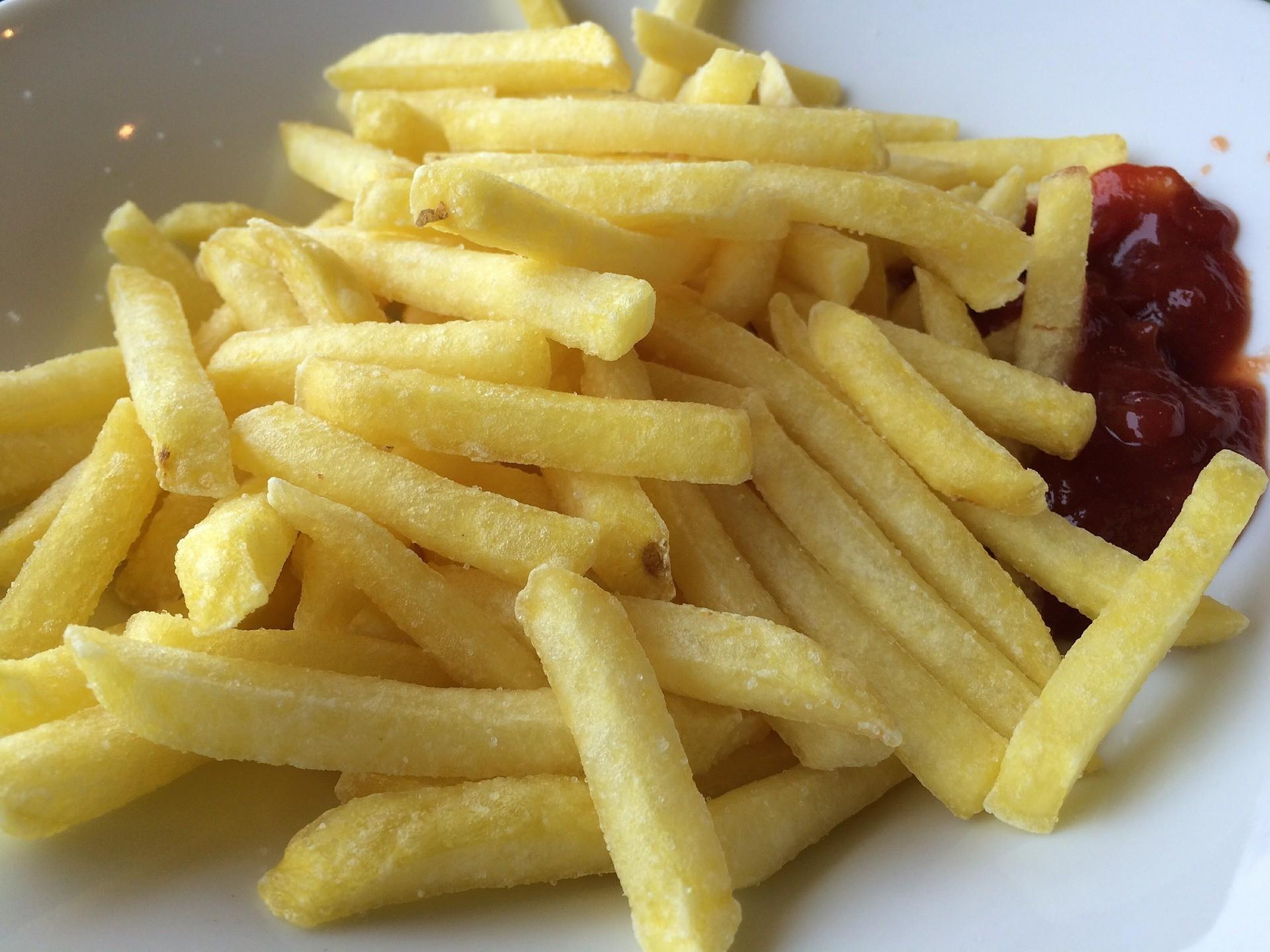 1 порция картофеля фри (65 г).