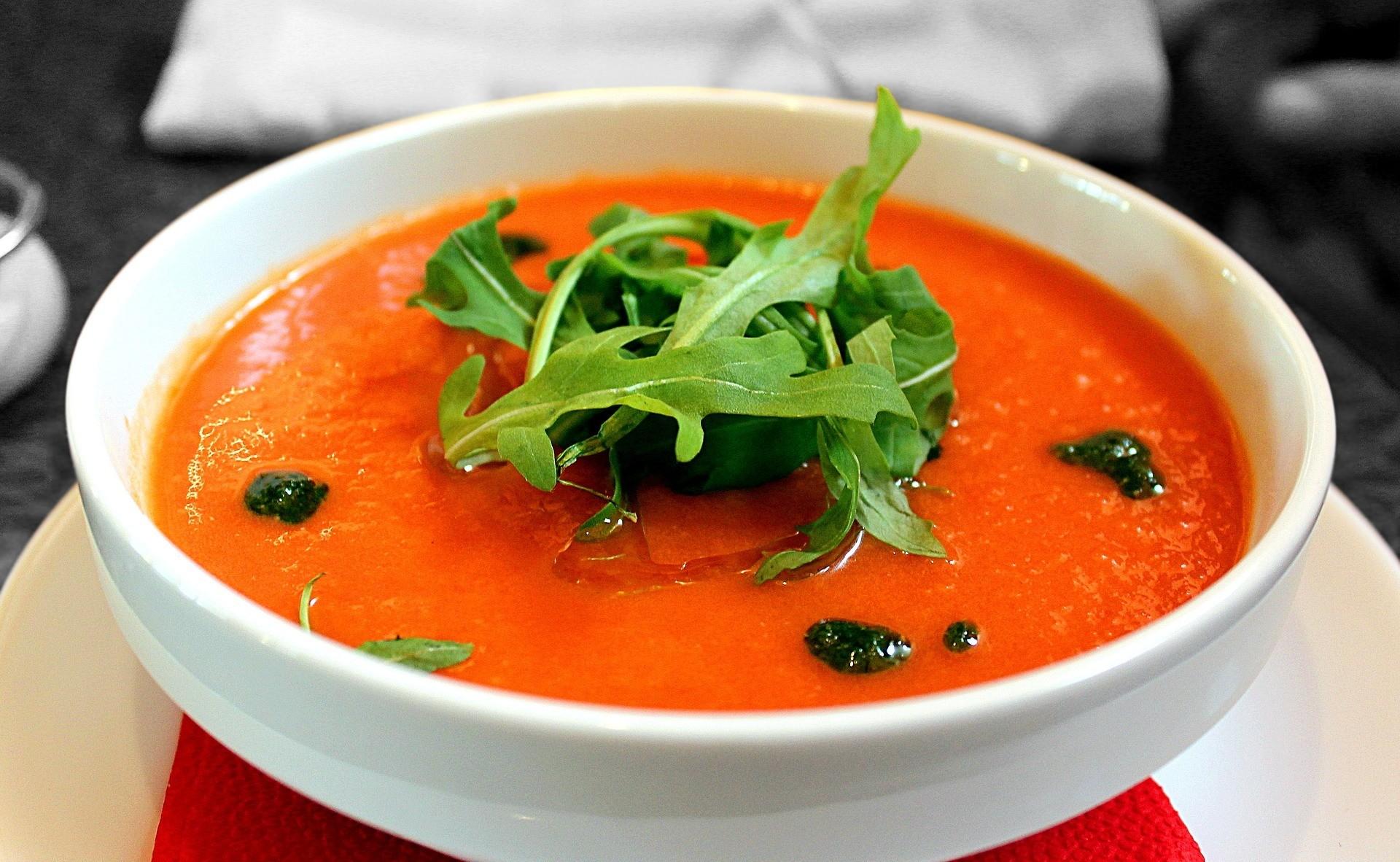 1 порция томатного супа (200 мл).