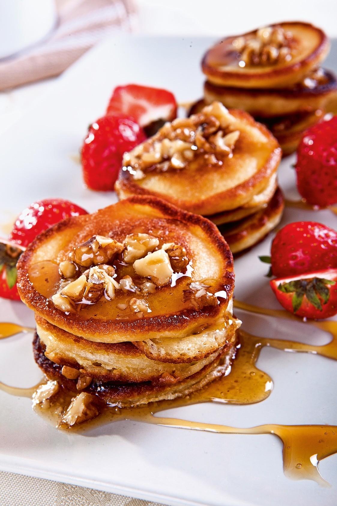 Вкусный завтрак: рецепт панкейков на кефире