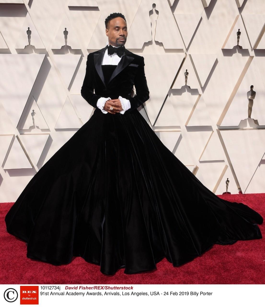 Американский актер пришел на церемонию вручения «Оскара» в платье