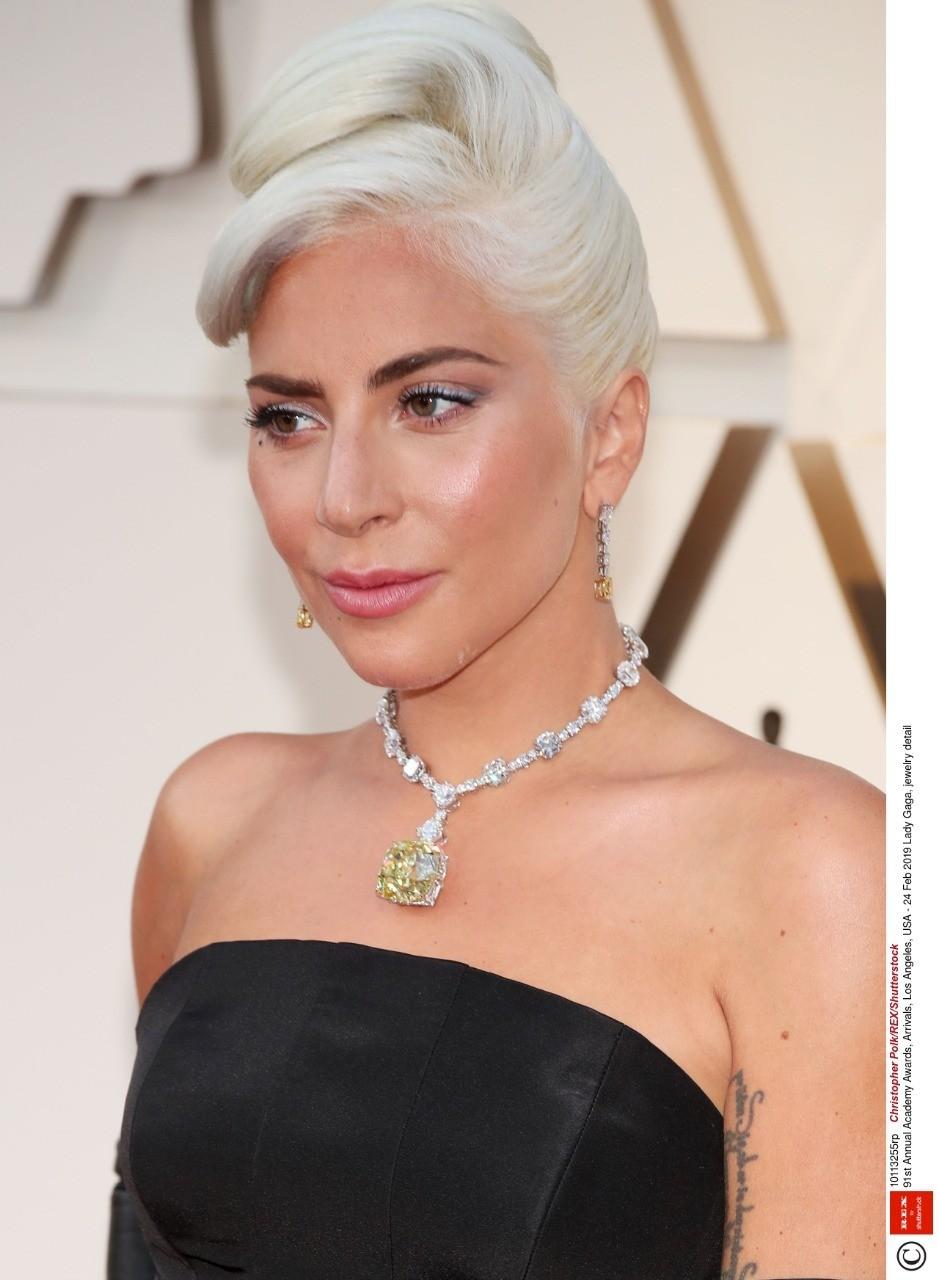 Как сообщает ABC, последний раз камень надевала актриса Одри Хепберн в1961 году длярекламы фильма «Завтрак уТиффани». Ожерелье дляЛеди Гаги создавали более года.