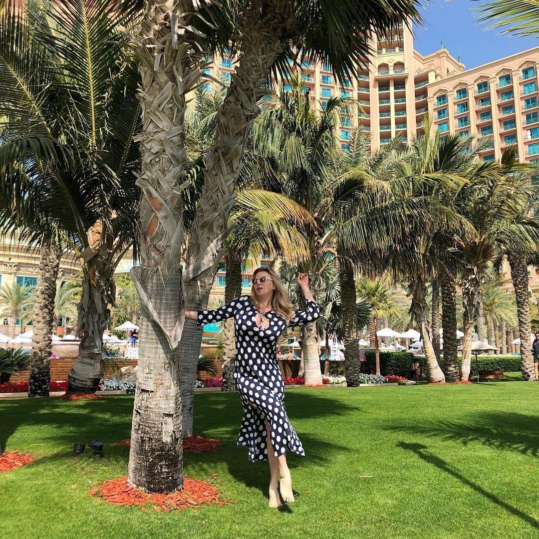 «Я счастлива»: Анна Семенович опубликовала фото с отдыха в Дубае