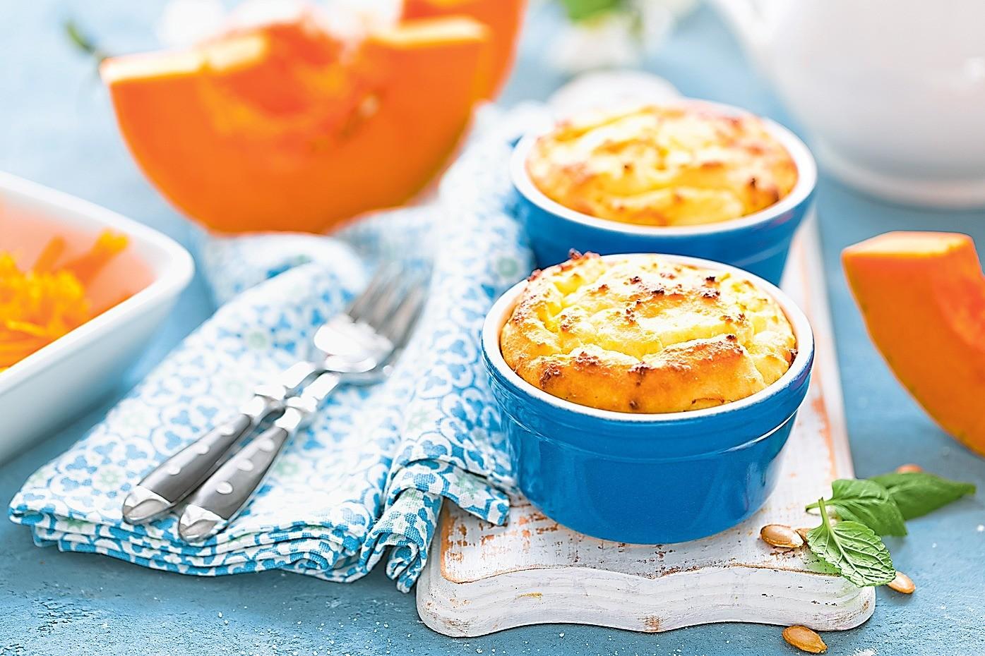 На завтрак: рецепт запеканки из творога с тыквой