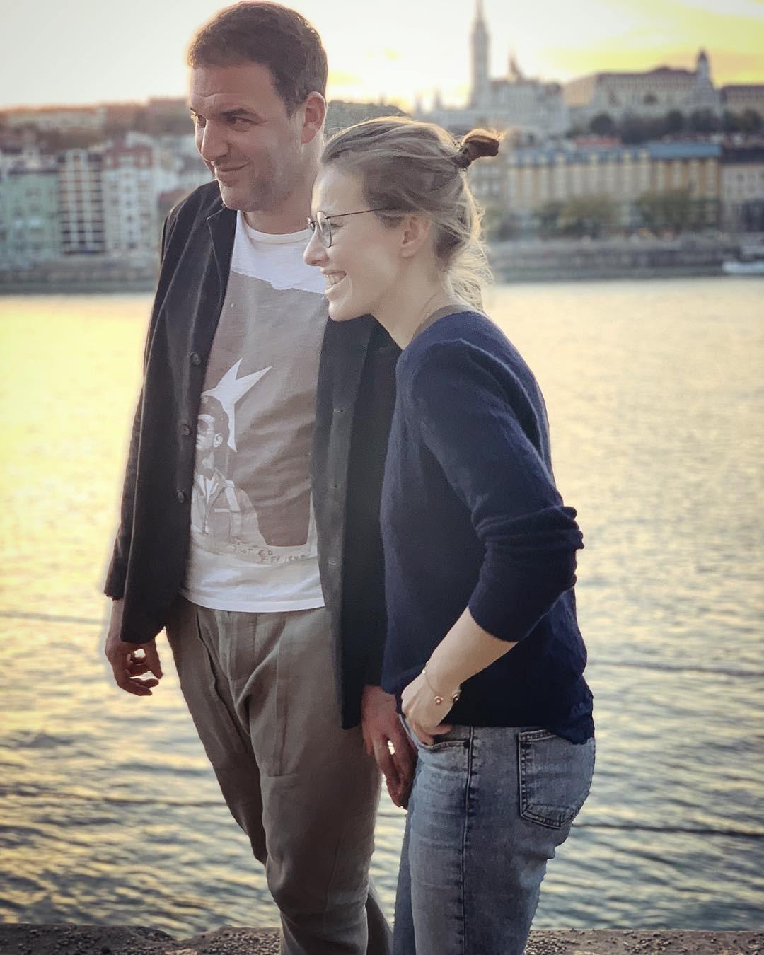 Максим Виторган и Ксения Собча&...