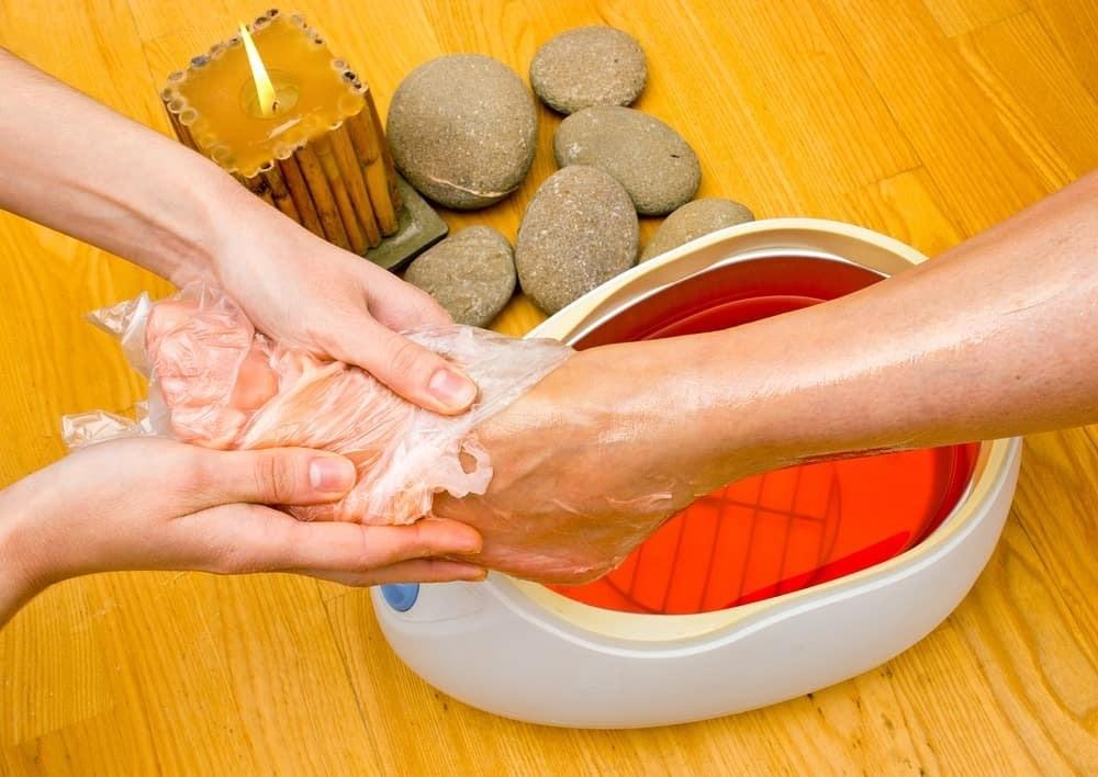 Как правильно делать парафиновые ванночки для рук и ног?