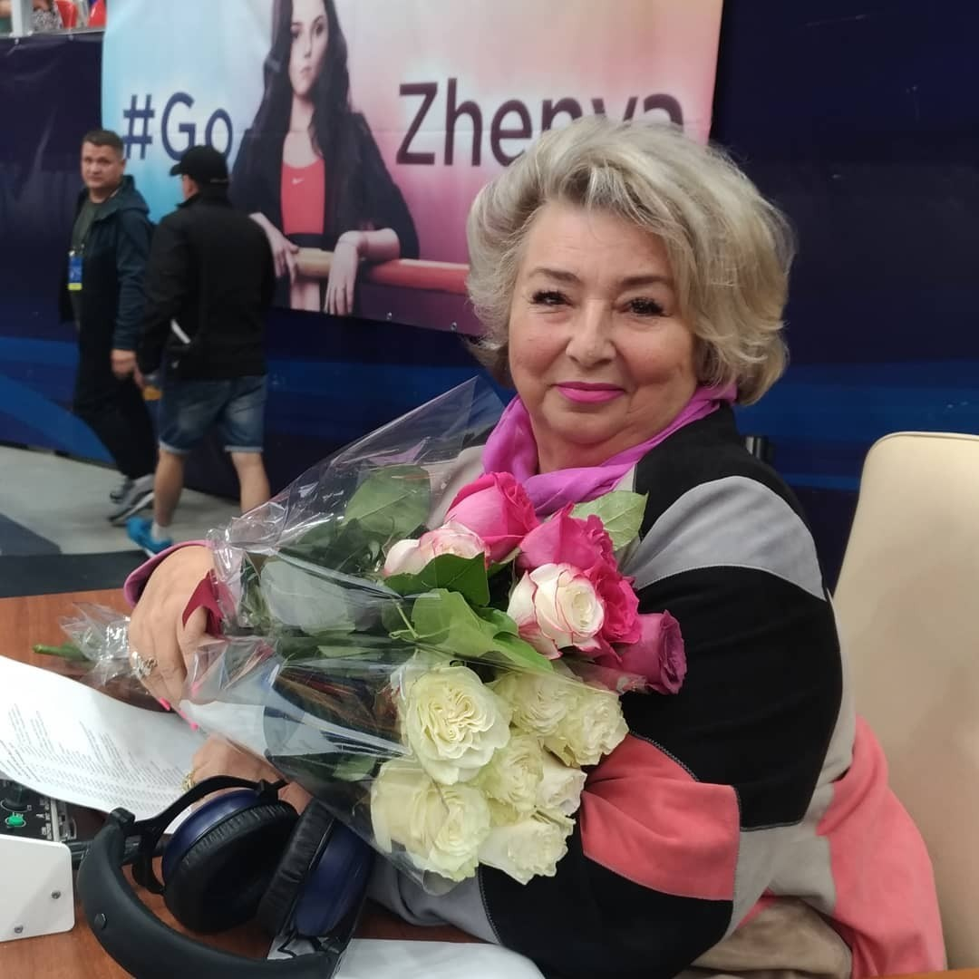 Татьяна Тарасова перенесла операцию по замене глазного хрусталика
