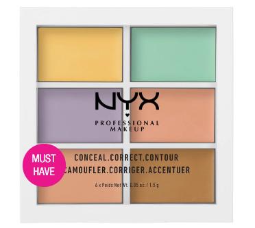 Палетка для коррекции цвета Color Correcting Palette 304