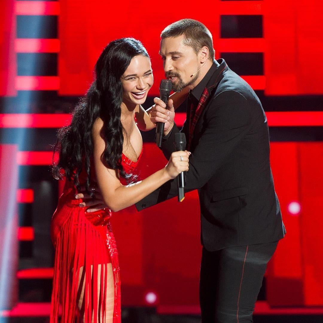 Яна Кошкина с Димой Биланом на &#1096...