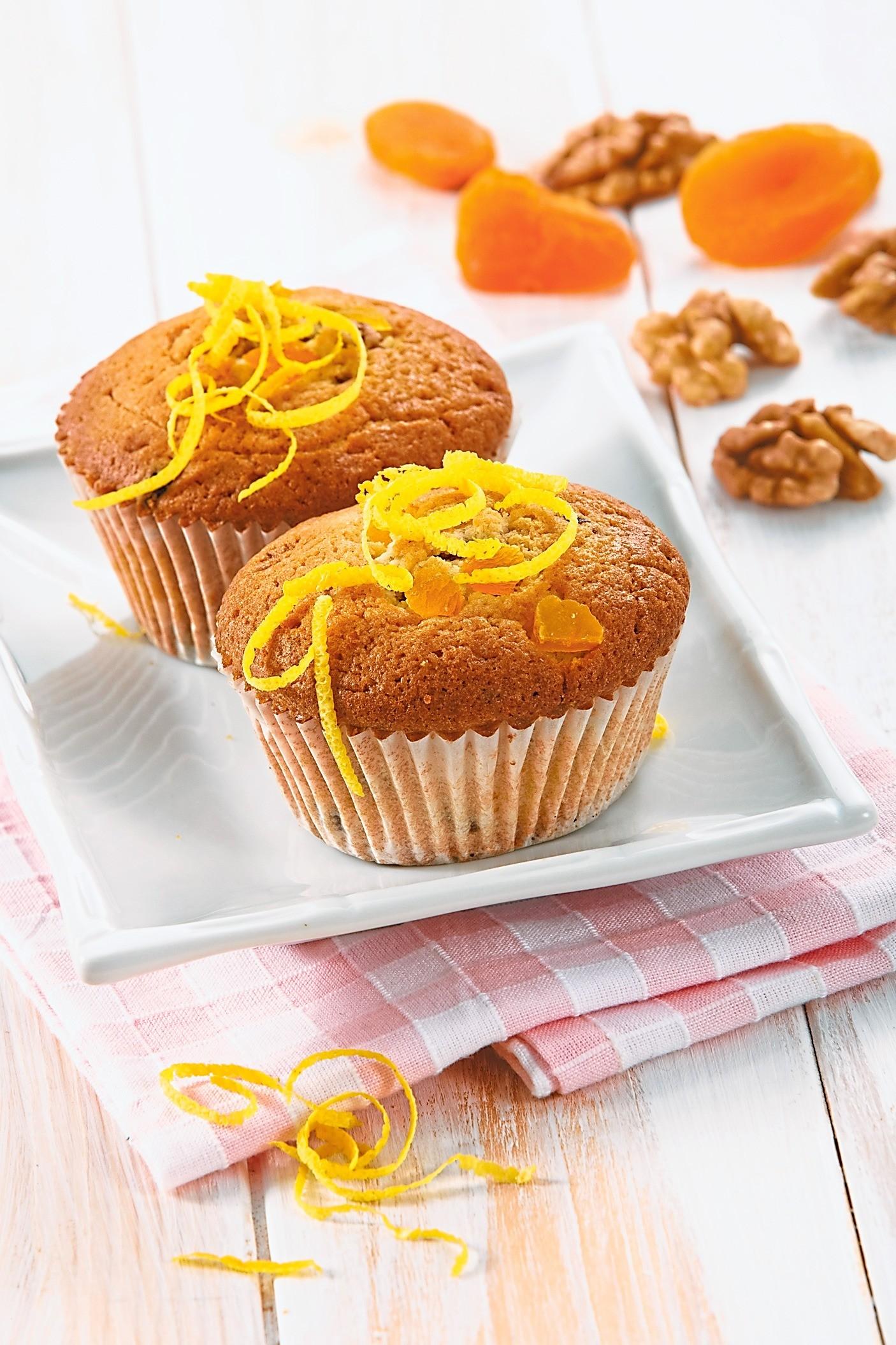 На сладкое: рецепт маффинов с абрикосами