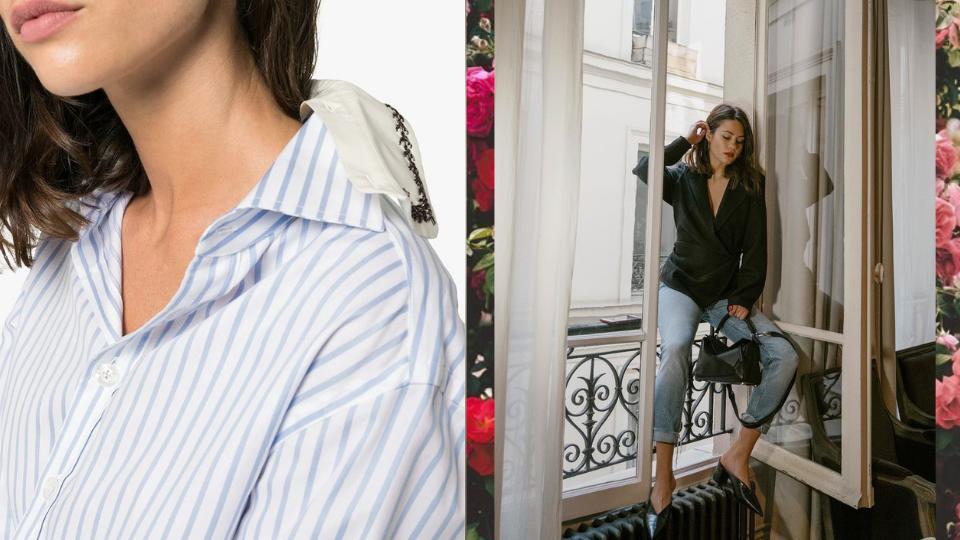 Как носить рубашку с джинсами девушке: модные идеи для весны и лета