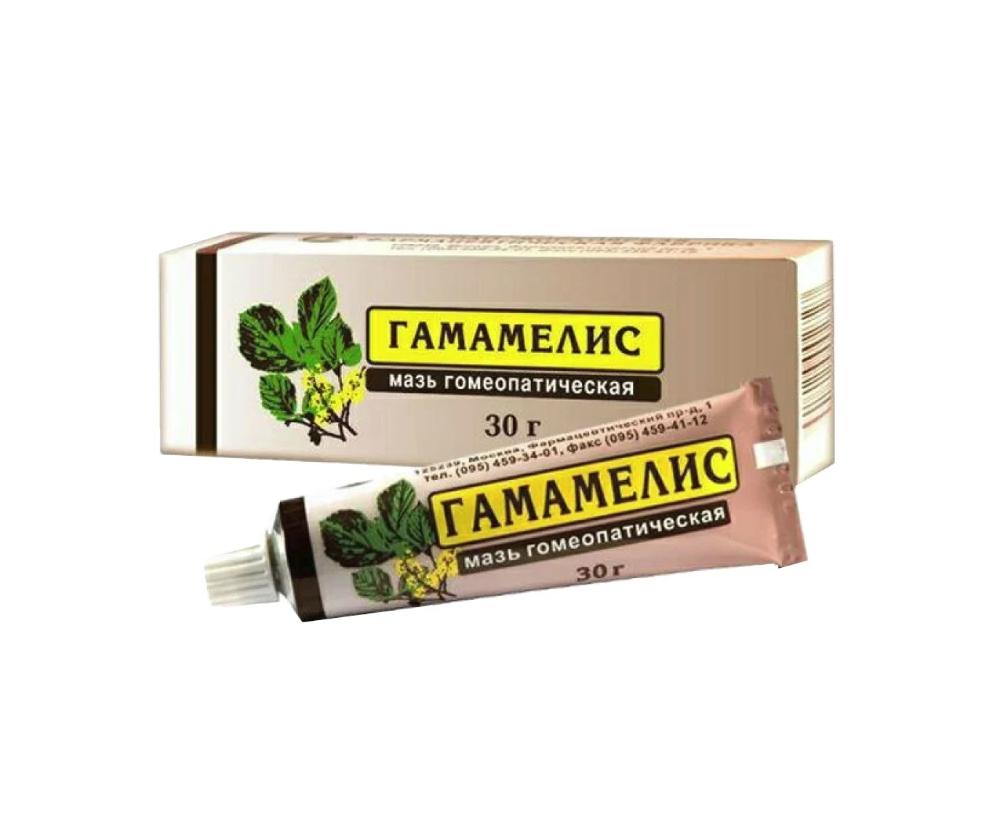 Гамамелис мазь гомеопатическая 30 г