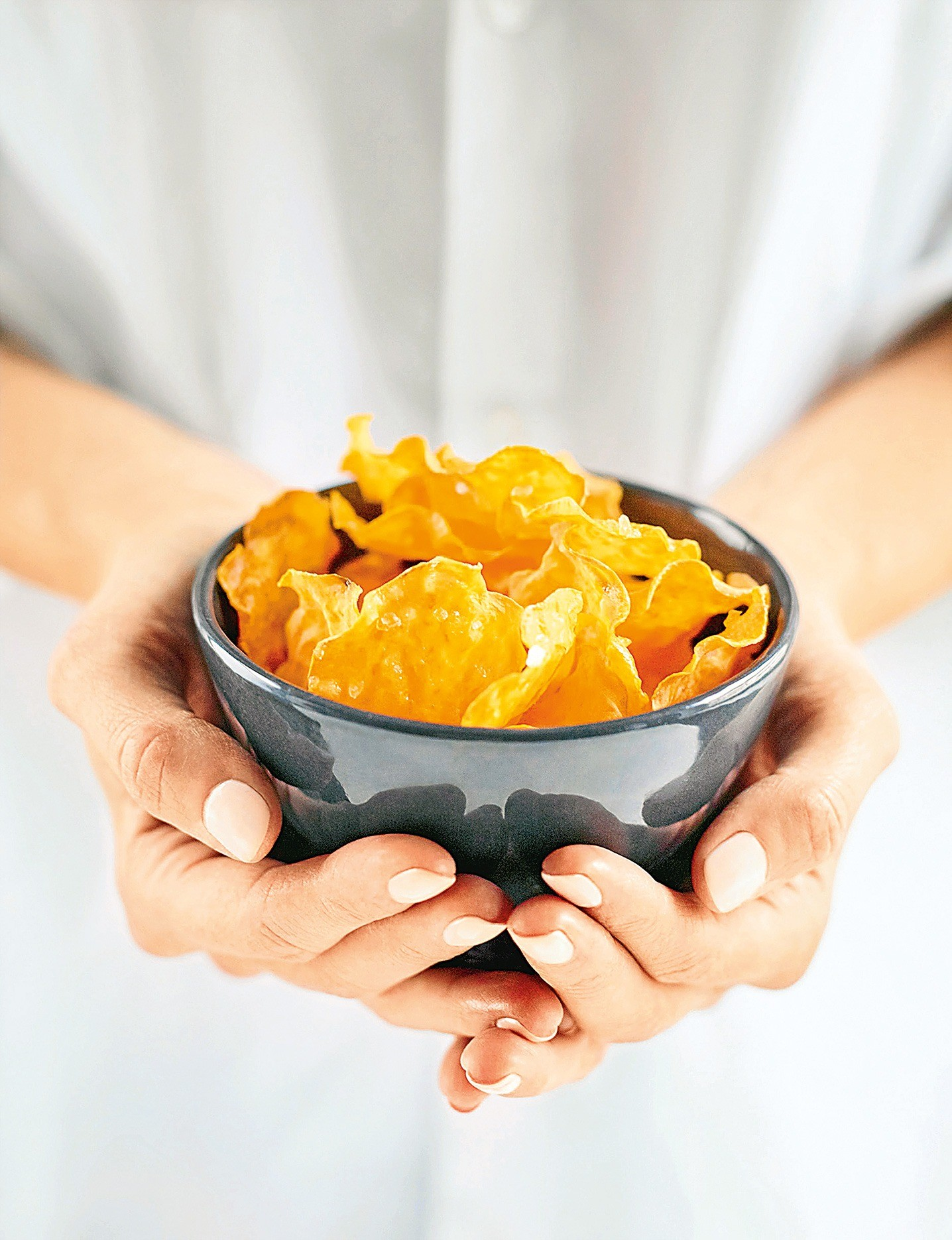 Ну, за ЗОЖ: рецепт чипсов без масла