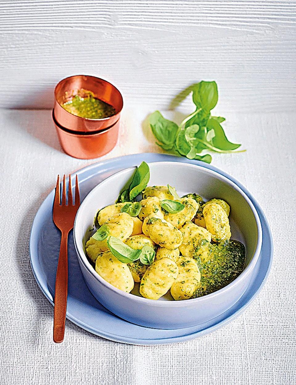 Вместо пельменей: рецепт ньокки с базиликом
