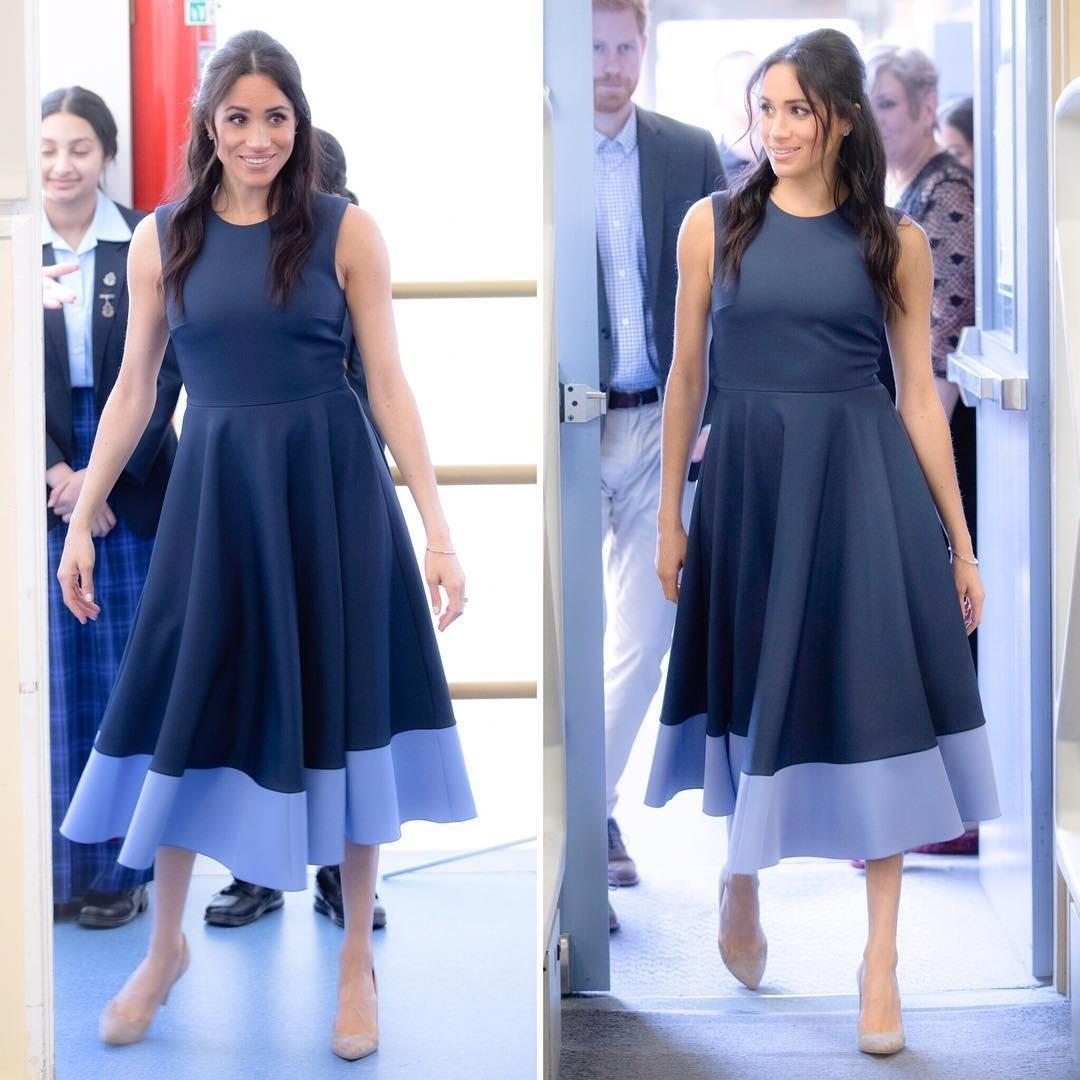 Платья в стиле New Look придумал еще Кристиан Диор и в свое время они произвели настоящую модную революцию. Кто бы мог подумать, что наряды такого силуэта настолько подходят беременным де...