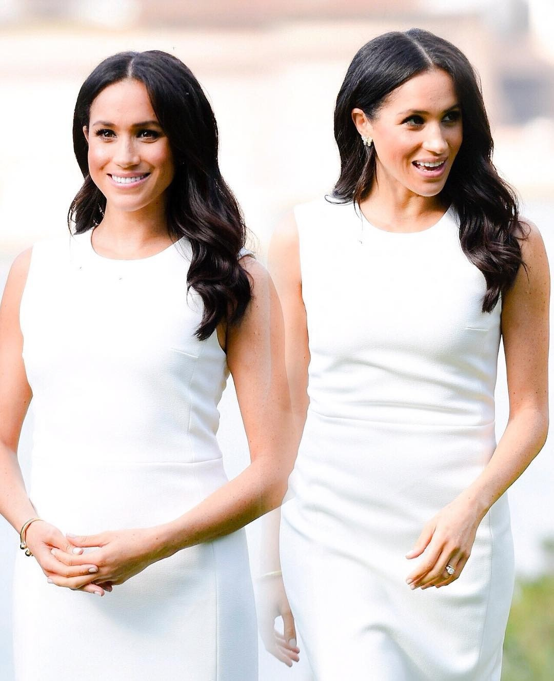 Беременные образы жены принца Гарри во многом стали резонансными. Ранее королевские особы никогда не привлекали внимание к округлившемуся животу. Меган оказаласьпервой, кто позволилсебе...