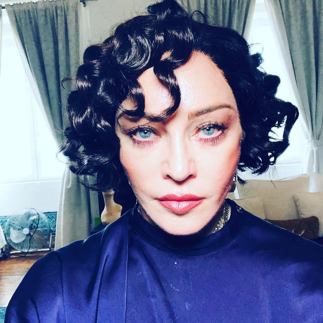 Мадонна сняла видео своего перевоплощения вбрюнетку