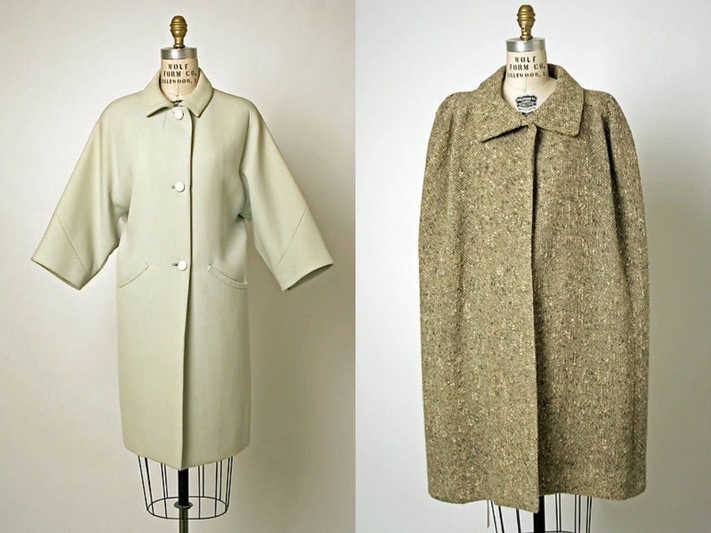 Пальто и кейп Cristóbal Balenciaga