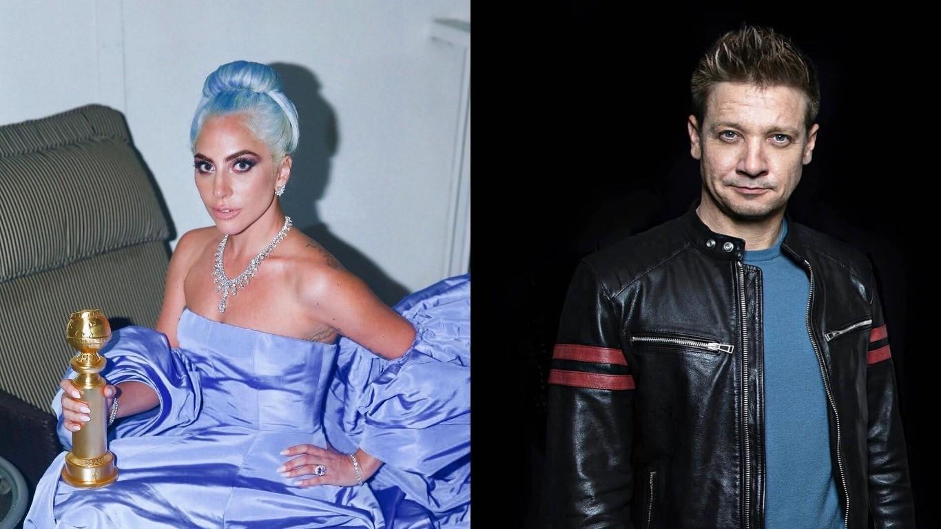 Леди Гага встречается с Джереми Реннером