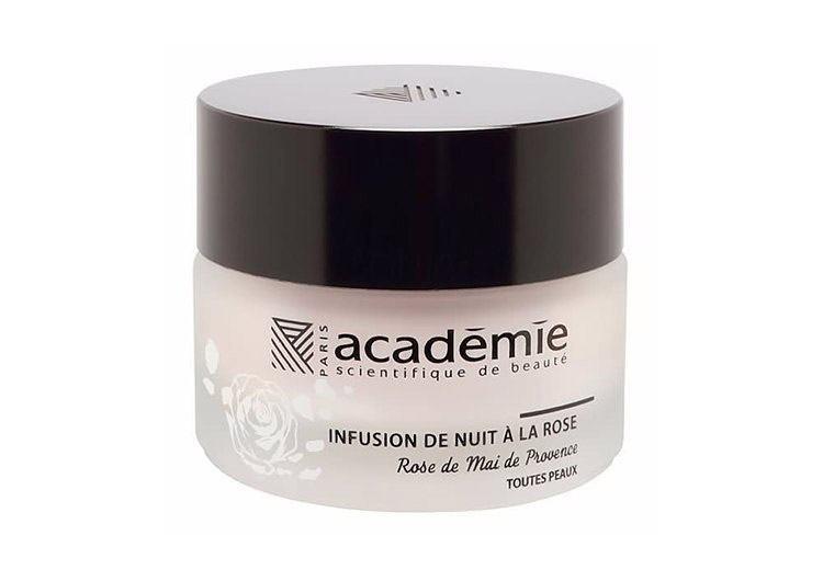 Ночной восстанавливающий крем «Розовая инфузия» Night Infusion Rose Cream, Academie
