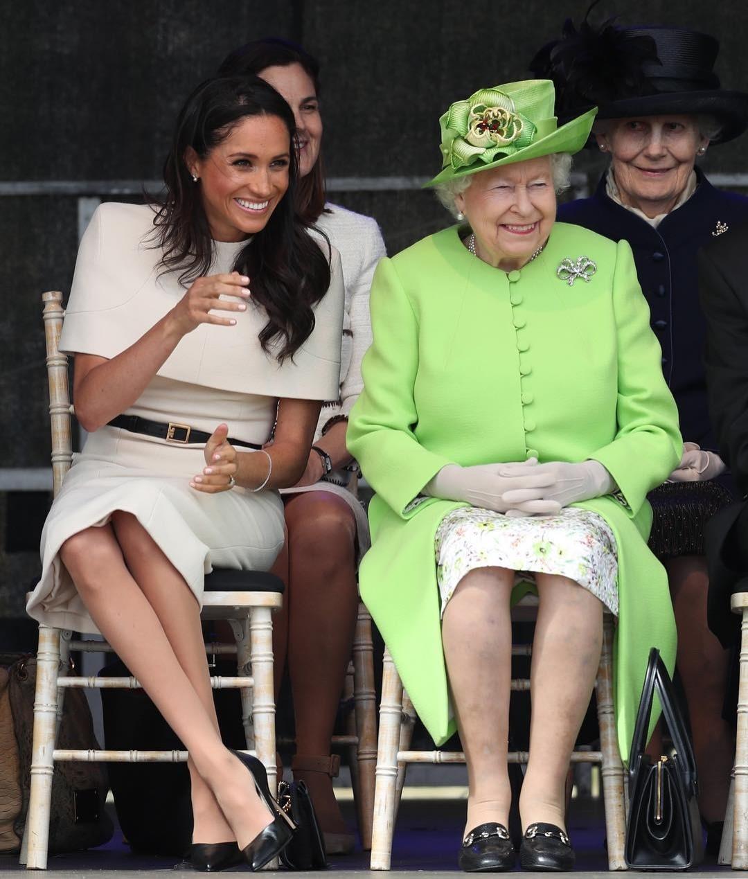 Британцы ставят нато, что Меган Маркл родит вДень рождения Елизаветы II