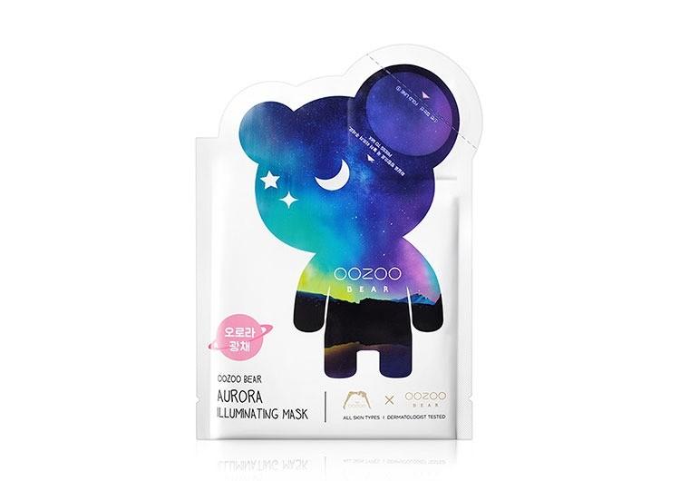 Тканевая маска Bear Aurora Illuminating Mask, The Oozoo
