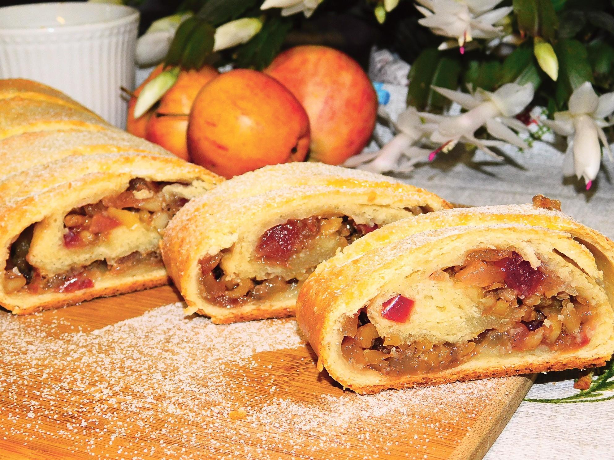 Лучше, чем в Вене: рецепт штруделя с грецкими орехами