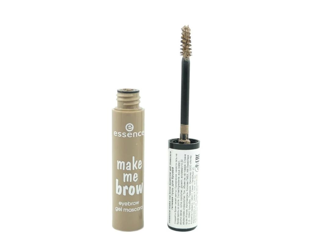 Essence Тушь-гель для бровей make me brow gel mascara