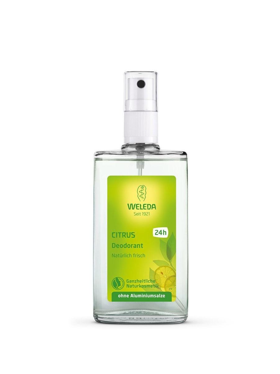 Дезодорант-спрей Citrus deodorant, Weleda.
