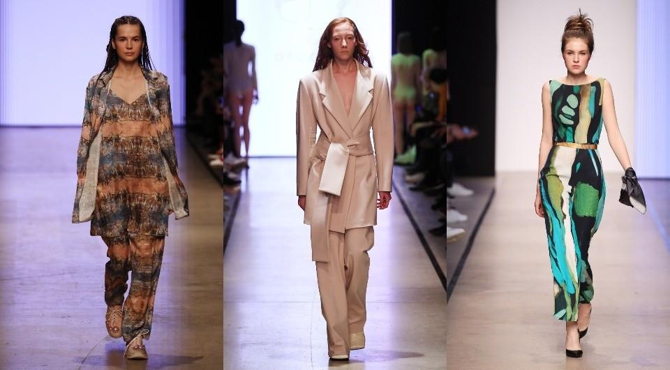 Искусство и экологичная одежда: второй день Mercedes-Benz Fashion Week