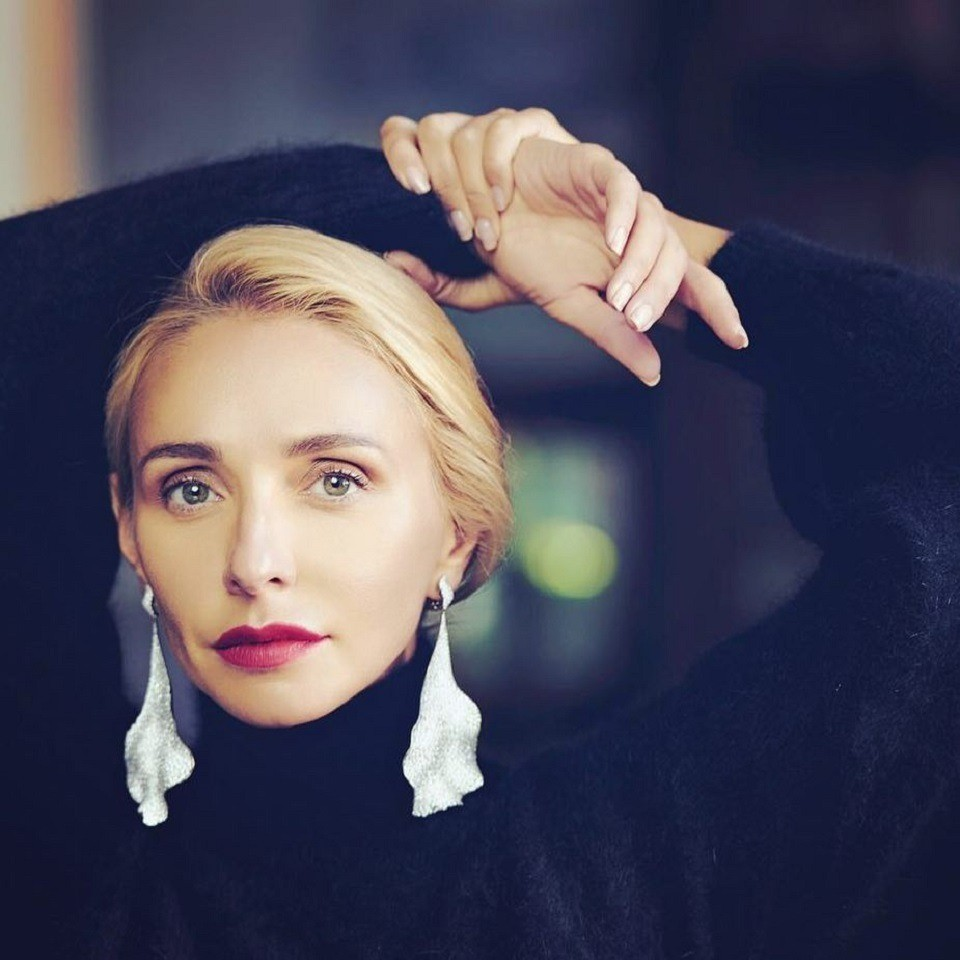 Татьяна Навка хочет сделать изсвоей младшей дочери балерину