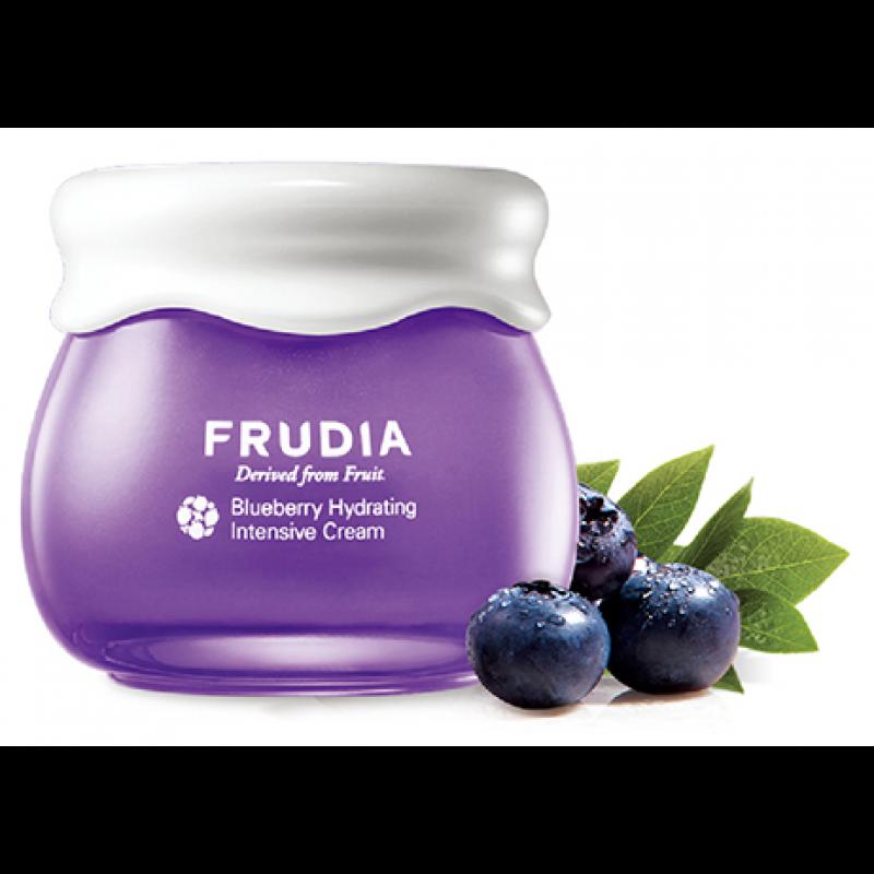 Увлажняющий крем для лица с экстрактом черники Blueberry Hydrating Cream, Frudia