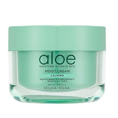Увлажняющий крем для лица Aloe Soothing Essence 80% Moisturizing Cream, Holika Holika
